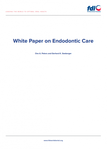 White Paper on endodontic care_white paper