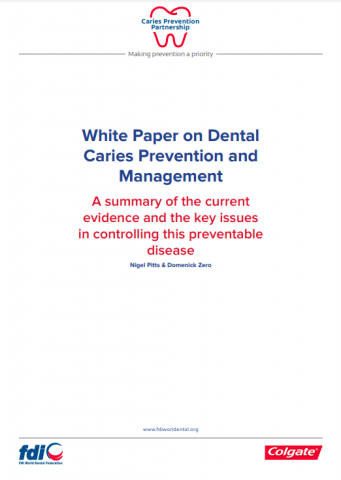 White paper on dental caries prevention and management_white paper