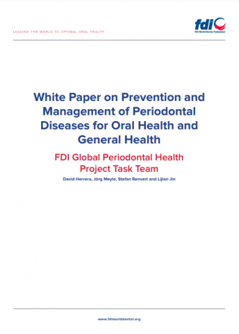 White paper on prevention and management of periodontal diseases for oral health and general health_white paper